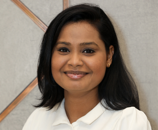 Namrata - Assistant Manager at the White Door